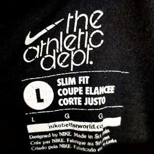 Nike Tops - Nike Large The Athletic Dept T-Shirt, Black, L